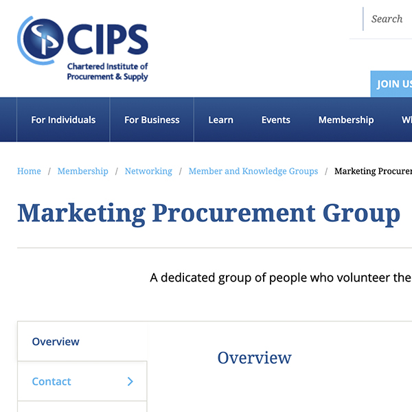 Chartered Institute of Procurement and Supply