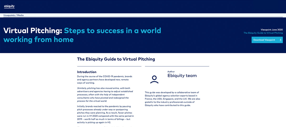 Ebiquity Guide Website Image